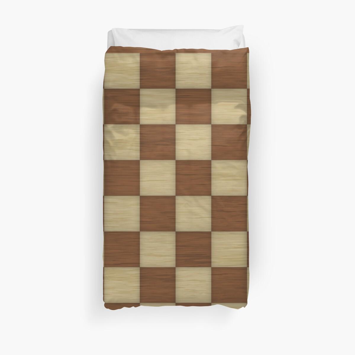 Wood Chess Board by CreatedProto