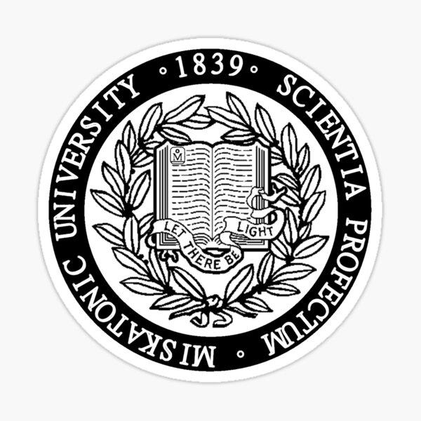 Miskatonic University Sigil Sticker