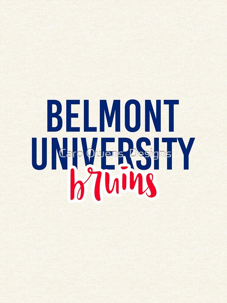 Belmont University - Style 11 by caroowens