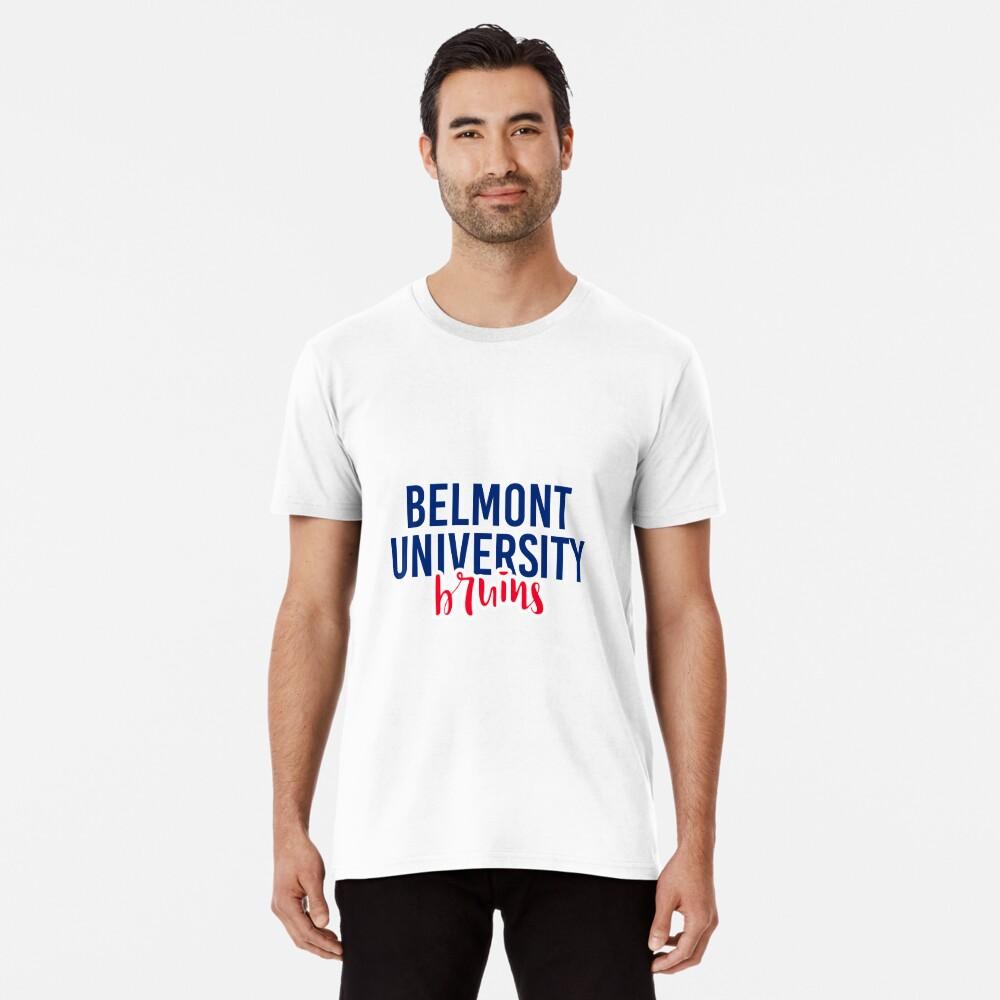 Belmont University - Style 11 Men's Premium T-Shirt Front