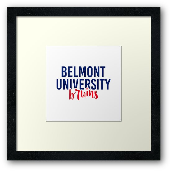Belmont University - Style 11 by Caro Owens  Designs