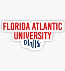 Florida Atlantic University - Style 11 Sticker