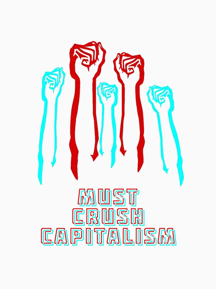Must Crush Capitalism - Lenin - Simpsons by real-leftorium