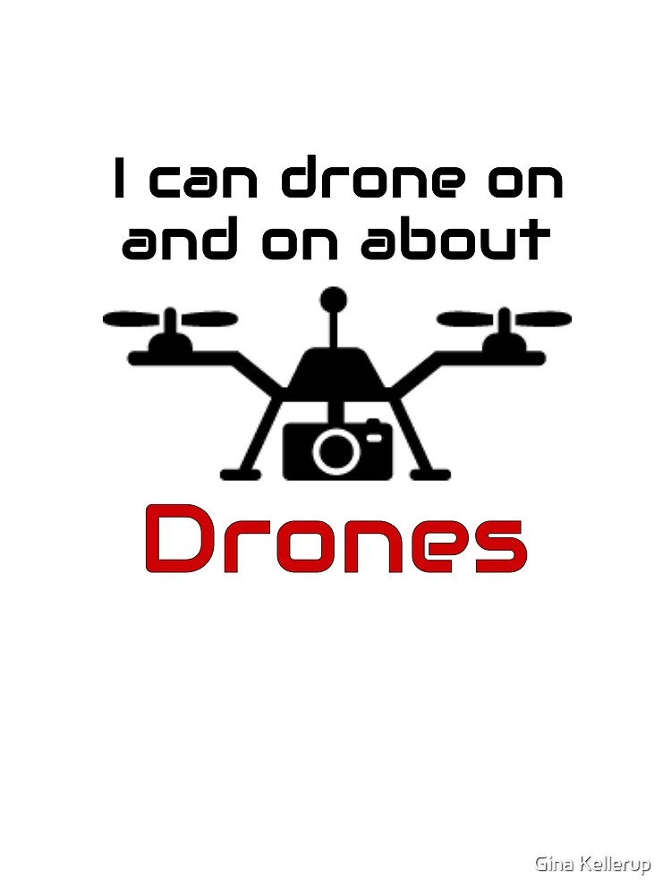 Drone Pilot I Can Drone On and On Drone Lover by KanigMarketplac