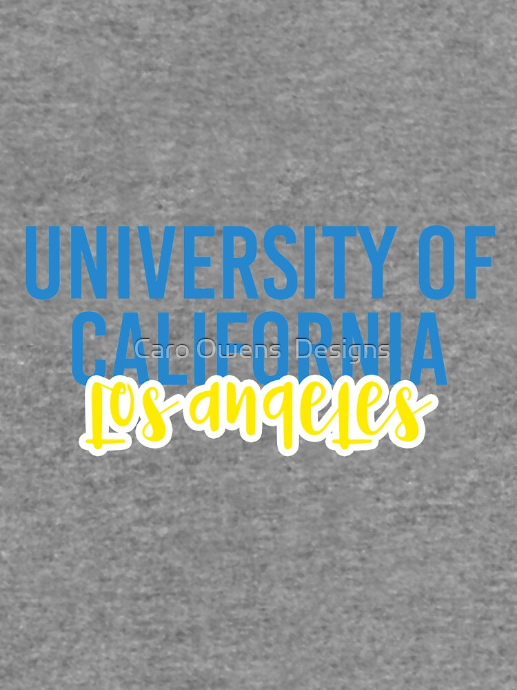 University of California Los Angeles - Style 11 by caroowens