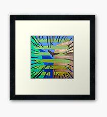 Hexagram 57 Xun (Penetrating Wind) Framed Print