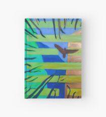 Hexagram 57 Xun (Penetrating Wind) Hardcover Journal