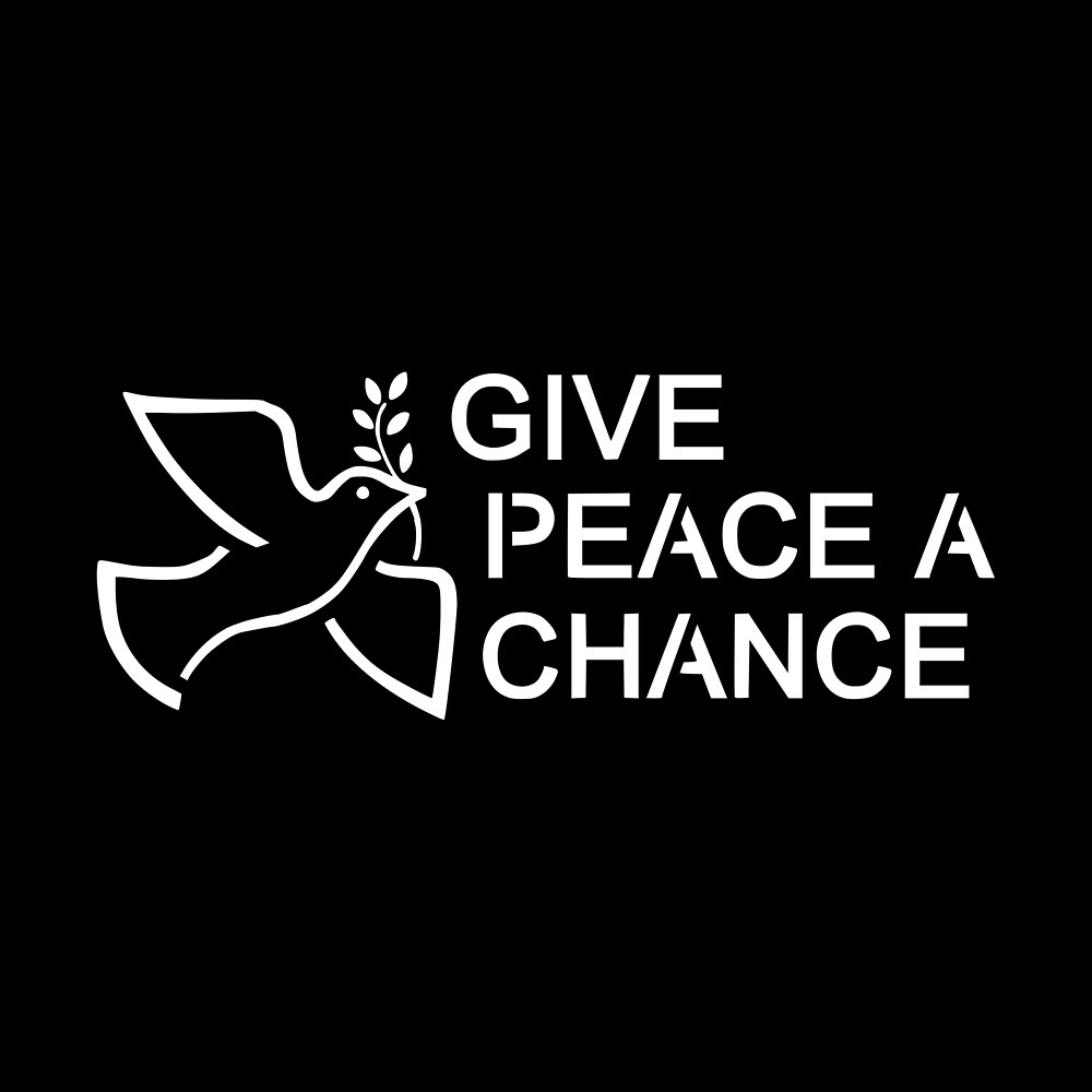 Movitational Gift - Give Peace A Chance by FDST-shirts