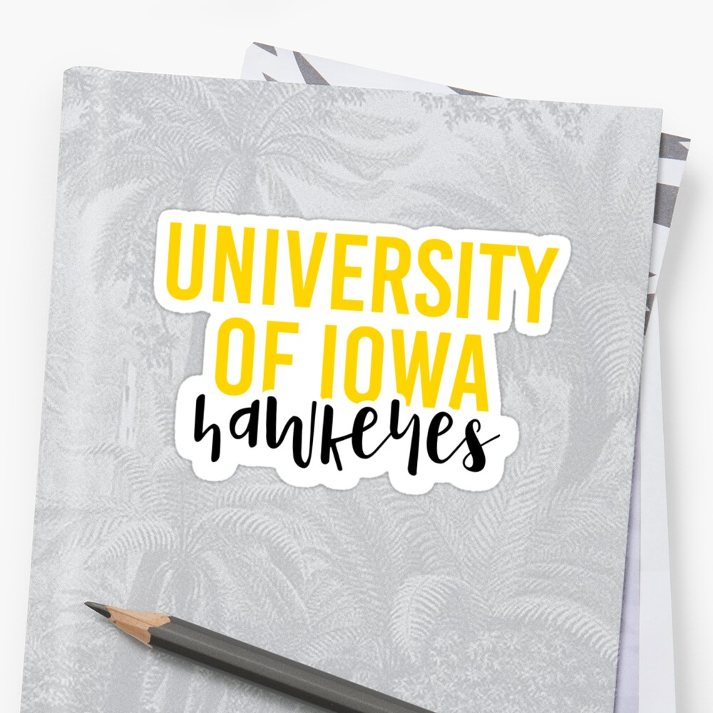 University of Iowa - Style 11 by Caro Owens  Designs