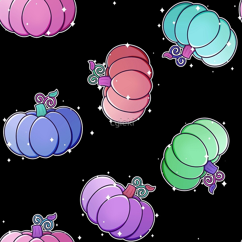 Pastel Pumpkins by cyleki
