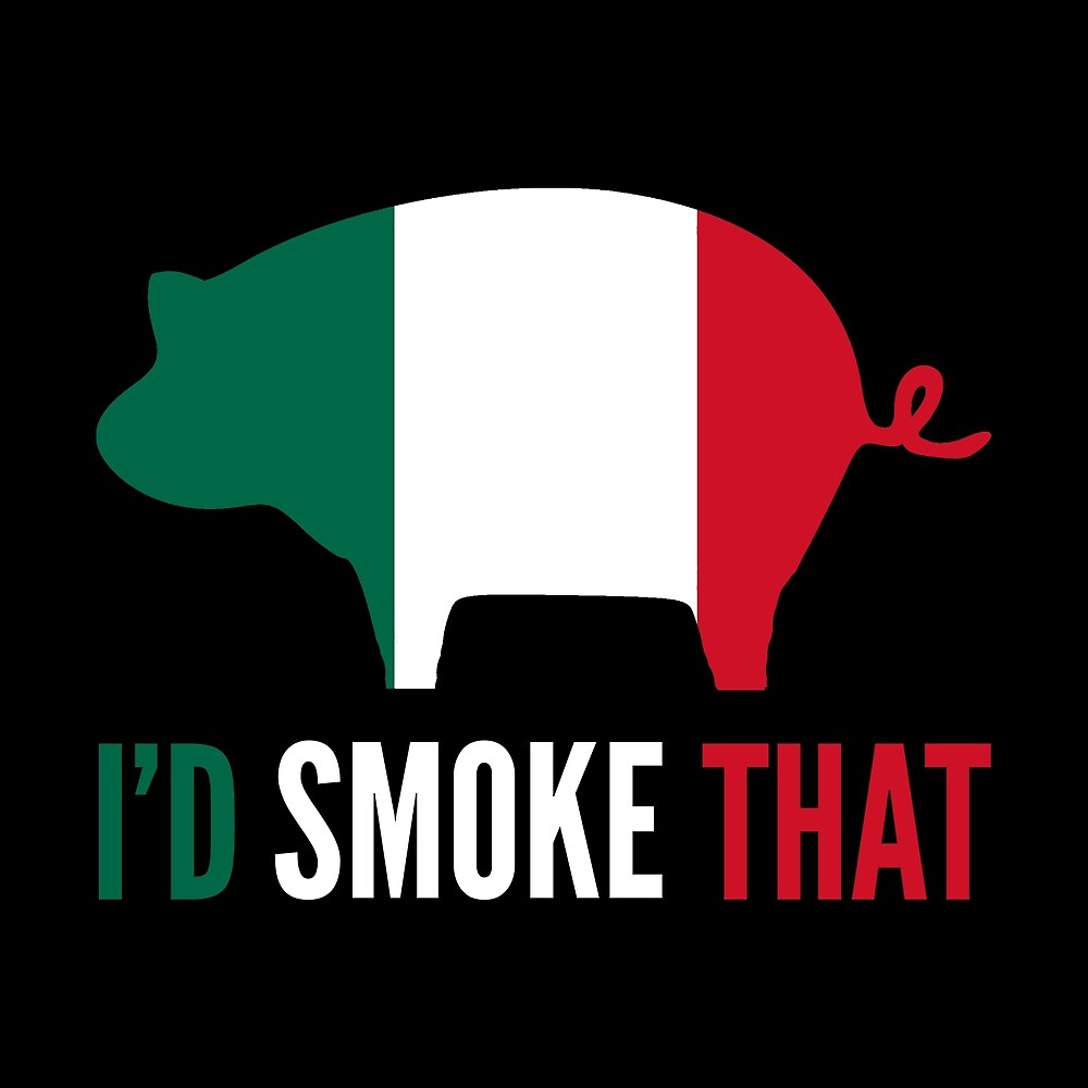 Funny Mexican Gift - I'd Smoke That by FDST-shirts