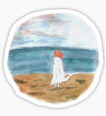 At the Beach Sticker