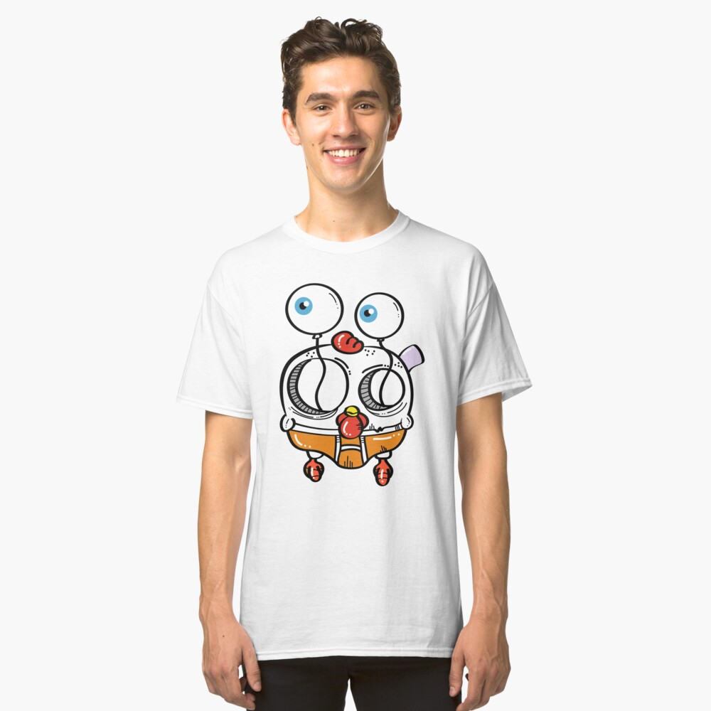 Chick Eyes Classic T-Shirt Front