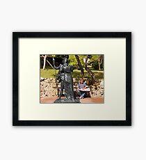 Love of the armour Framed Print