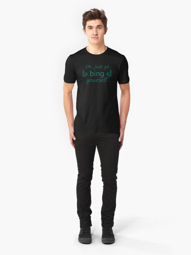 Alternate view of Bing Yourself Slim Fit T-Shirt