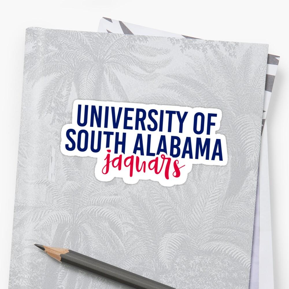 University of South Alabama - Style 11 by Caro Owens  Designs