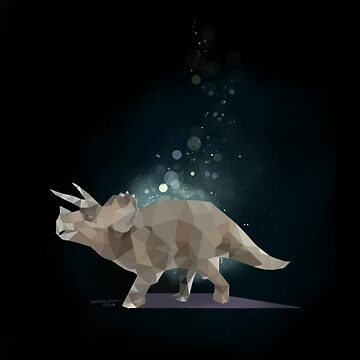 Dreamy Triceratops by artloadrian