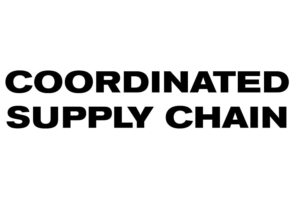 COORDINATED SUPPLY CHAIN by UnambitiousLog