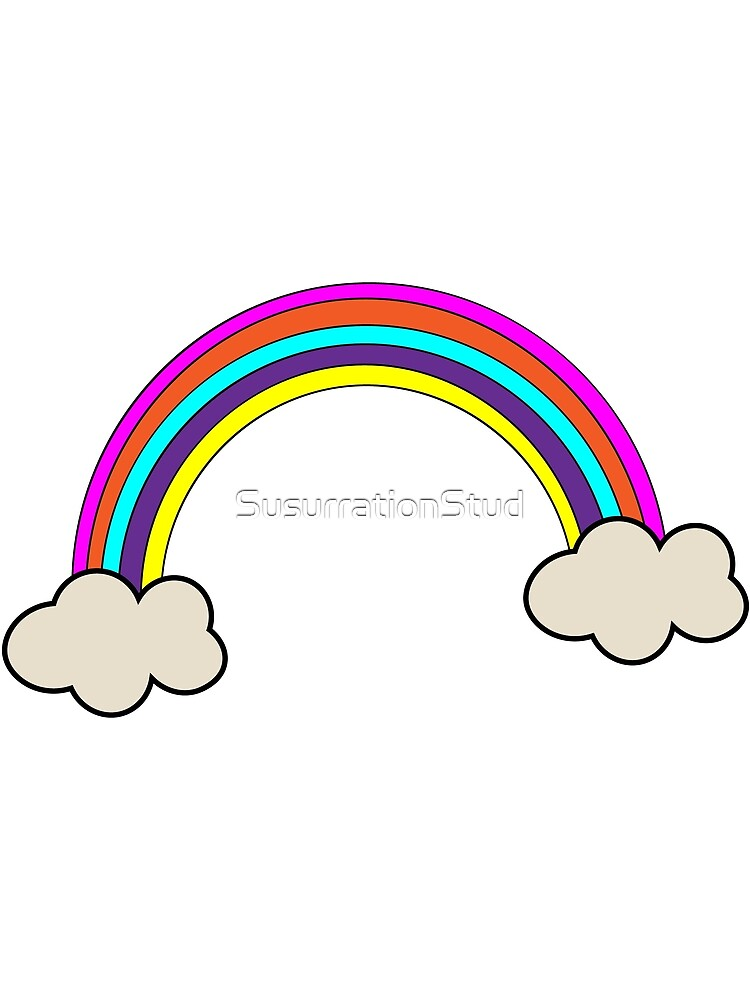 Rainbow Cloud by SusurrationStud