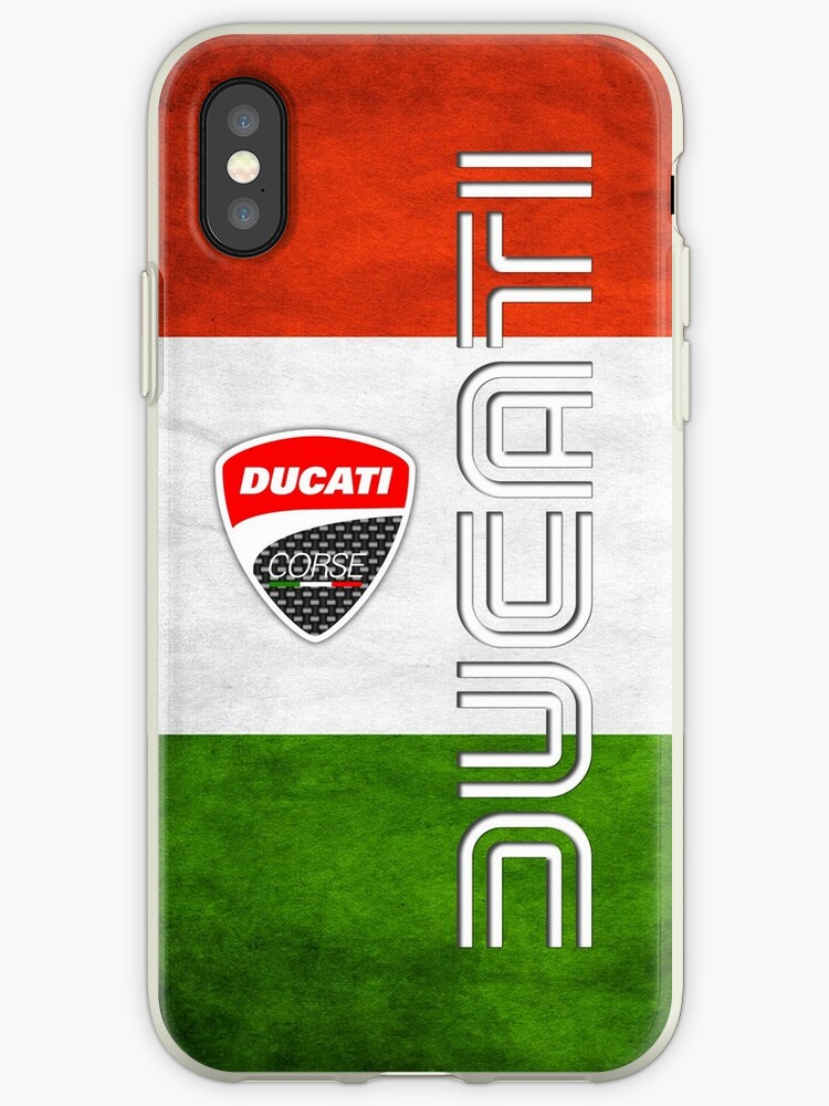 ducati Italy Flag by EdnaDunn