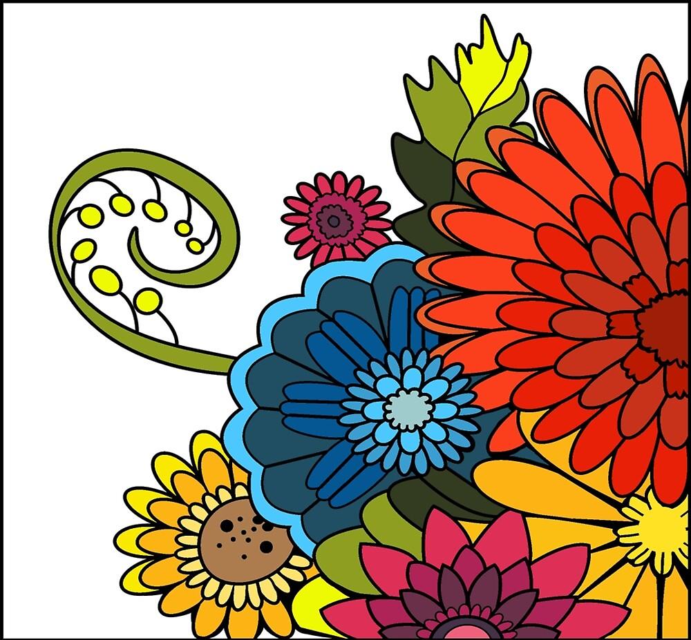 Flower Pattern by Emus