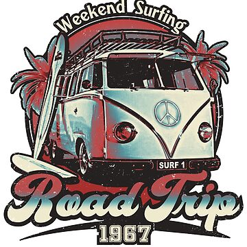 Road Trip 1967 - Weekend Surfing by RycoTokyo81