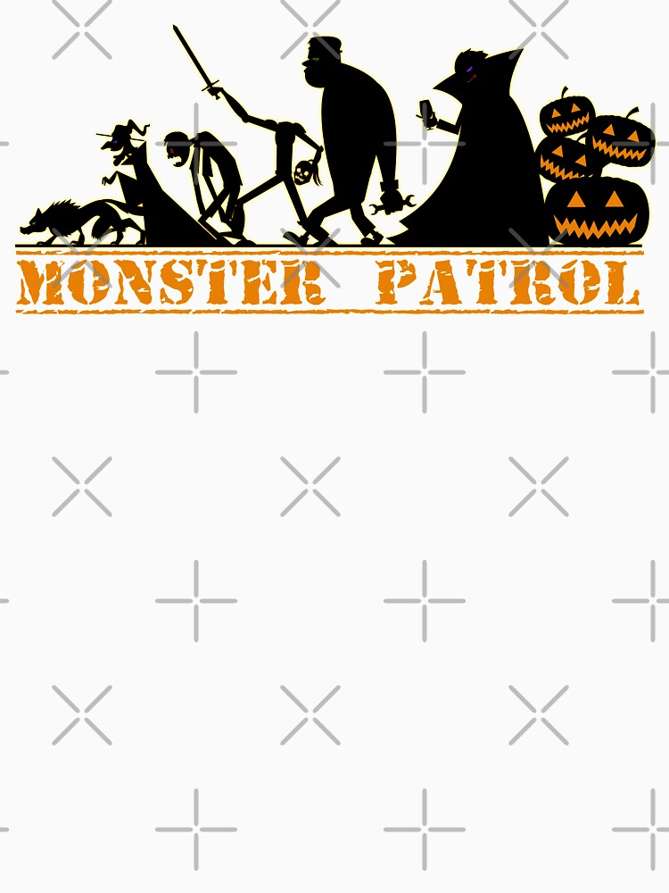 Monster Patrol Halloween Graphic  by Dibble-Dabble