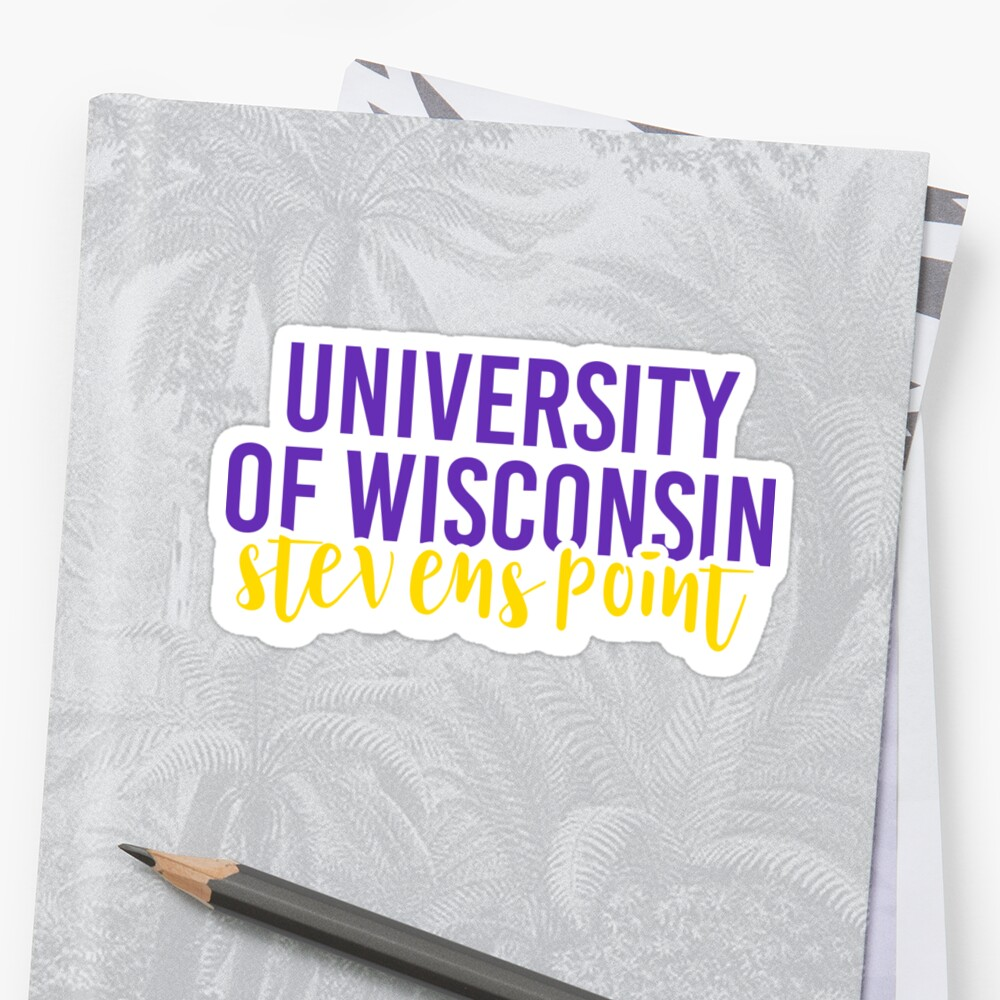 University of Wisconsin Stevens Point - Style 11 by Caro Owens  Designs
