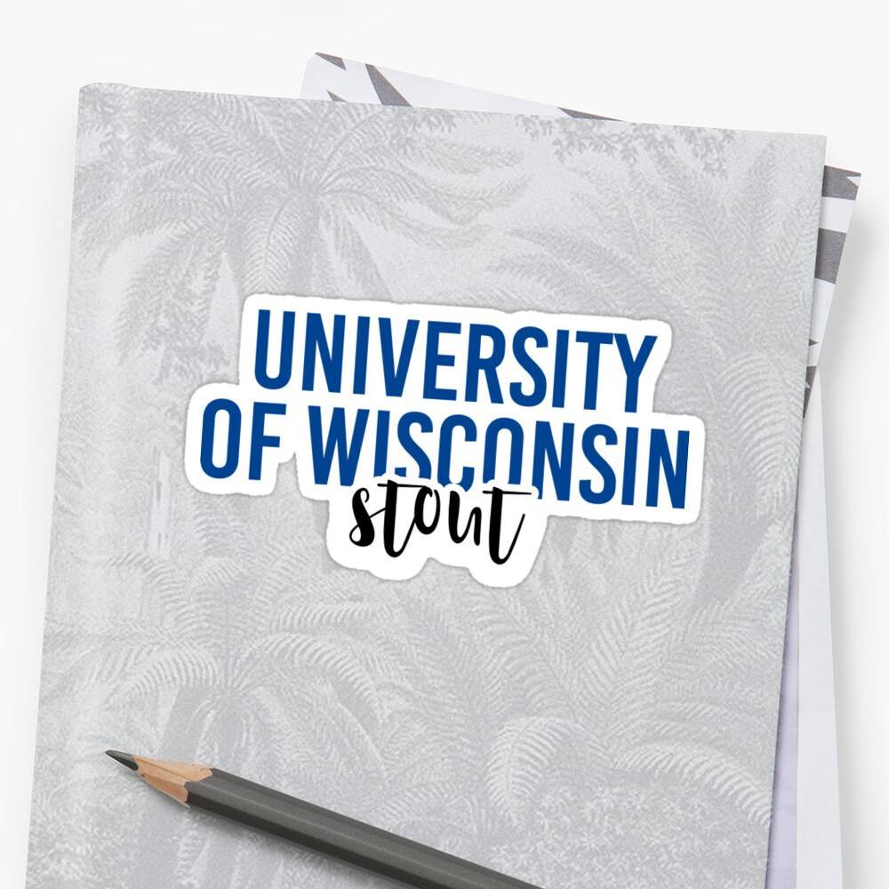 University of Wisconsin Stout - Style 11 by Caro Owens  Designs
