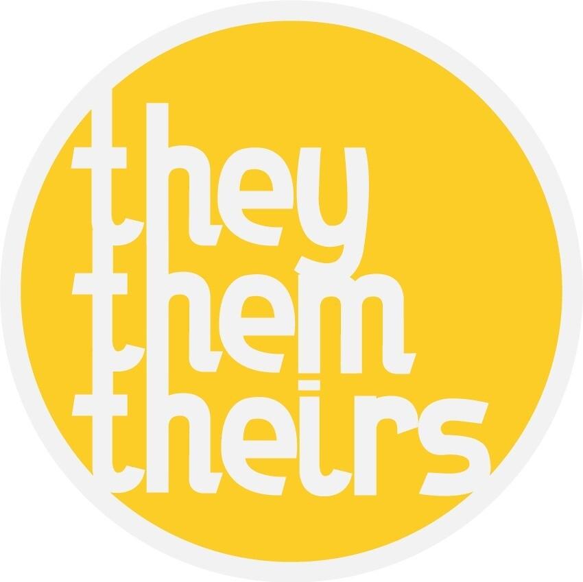 they/them/their singular pronoun by nana7pina