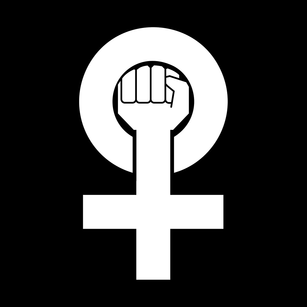 Activist Gift - Female Power Symbol by FDST-shirts
