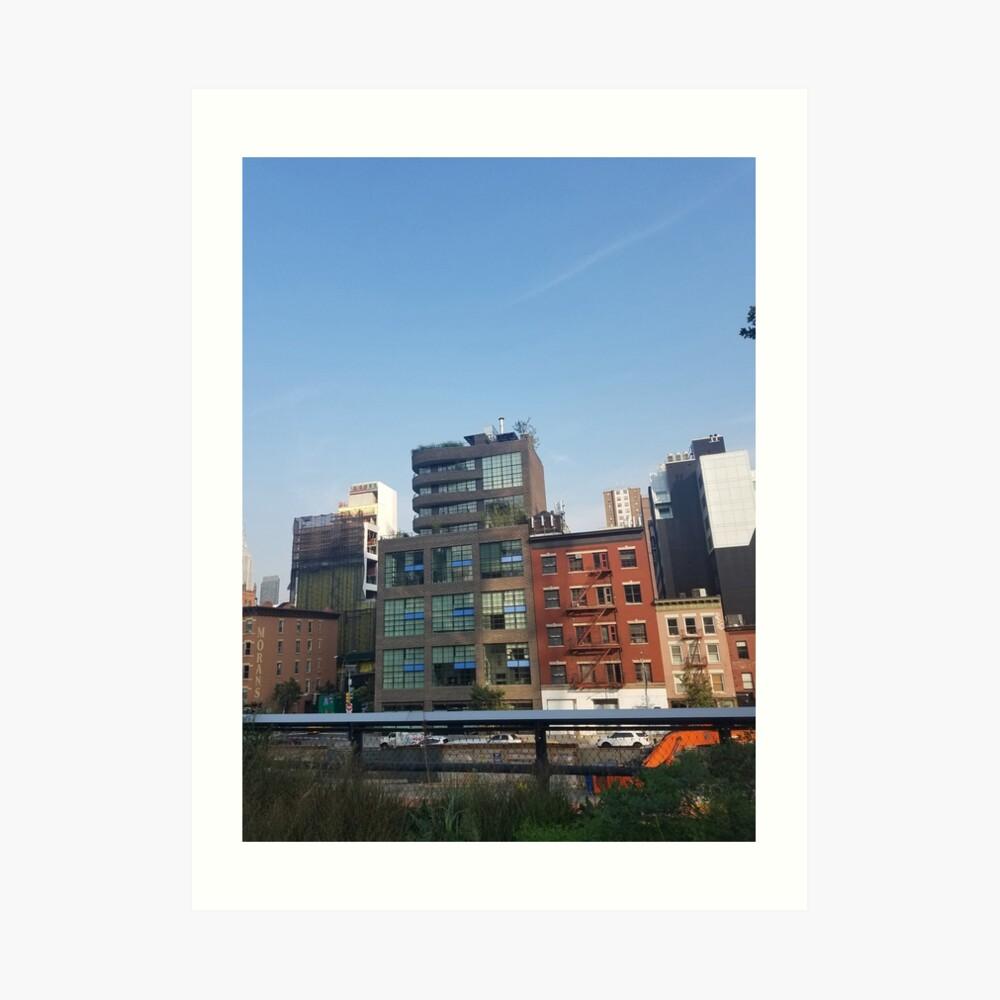 city_9 Art Print