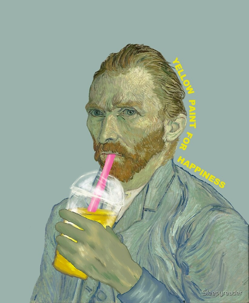 Van Gogh - Yellow Paint for Happiness by Sleepyreader