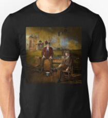 Firemen - Sharing his wisdom - 1942 Unisex T-Shirt