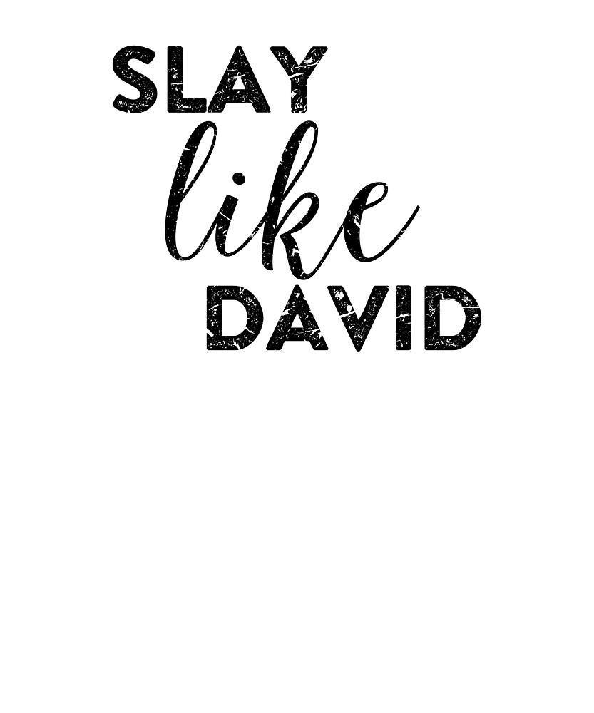 Slay Like David, Christian by Logic72
