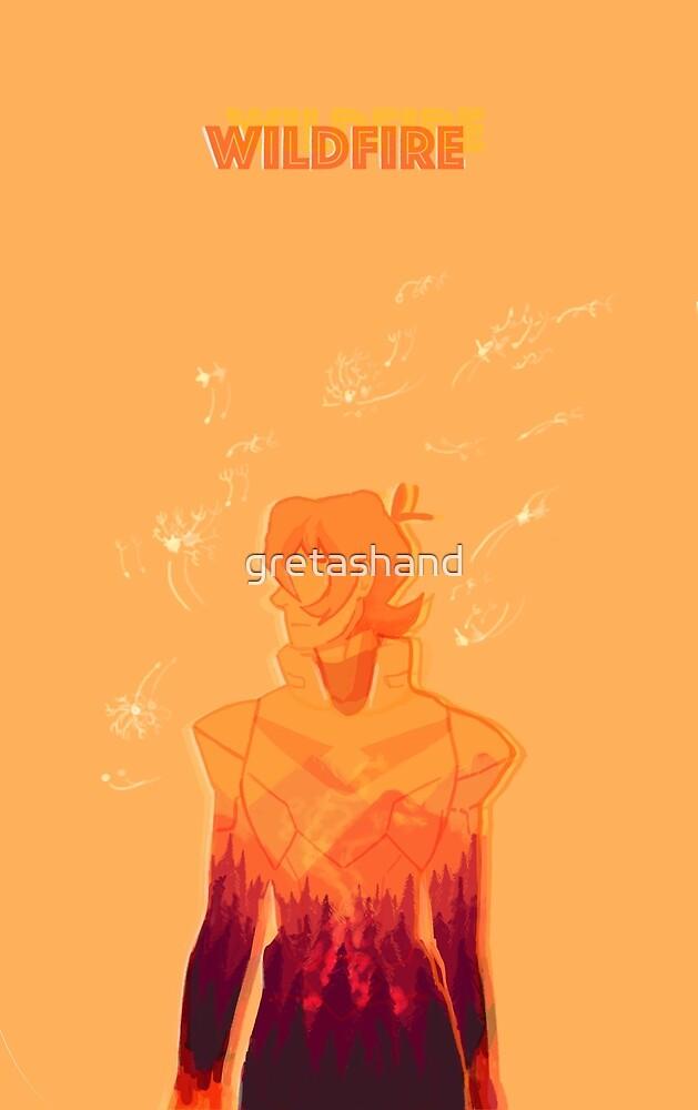 Wildfire by gretashand