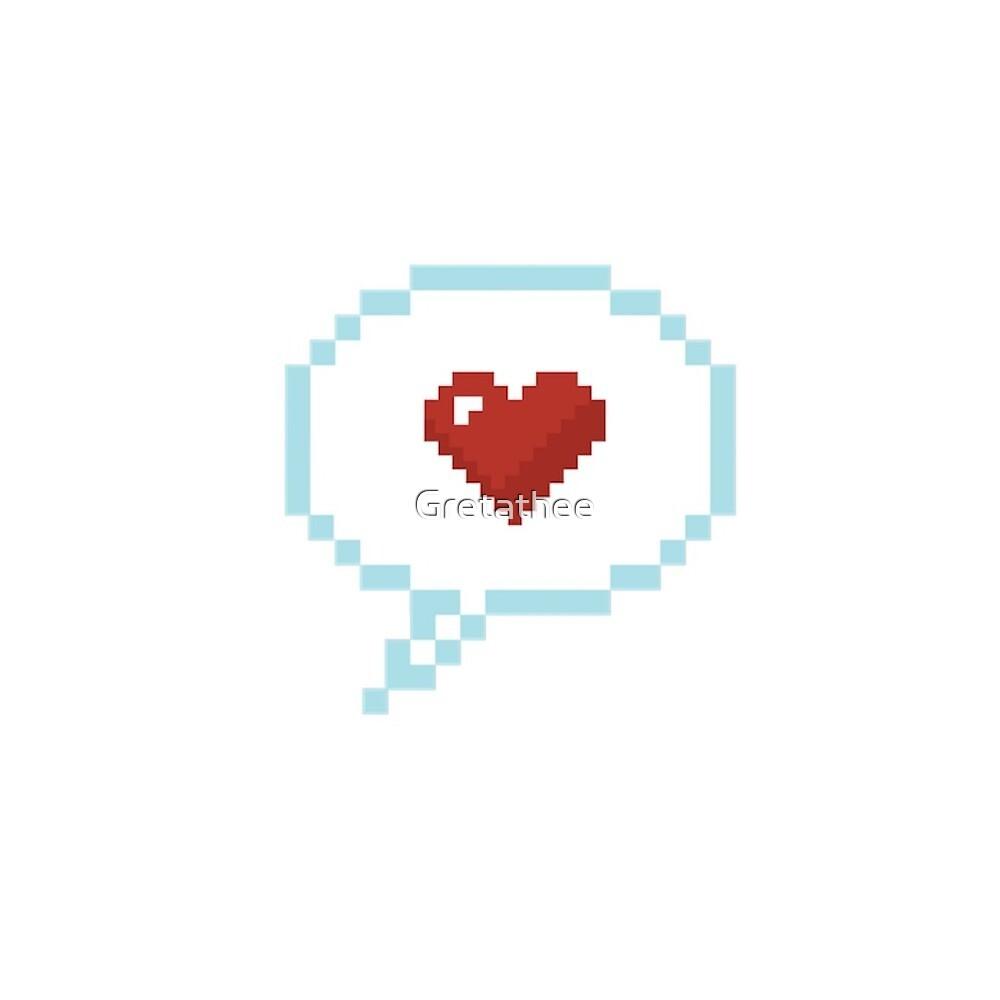 Love Emoji, Love emoticon by Gretathee