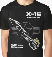 X-15 Rocket Plane Graphic T-Shirt