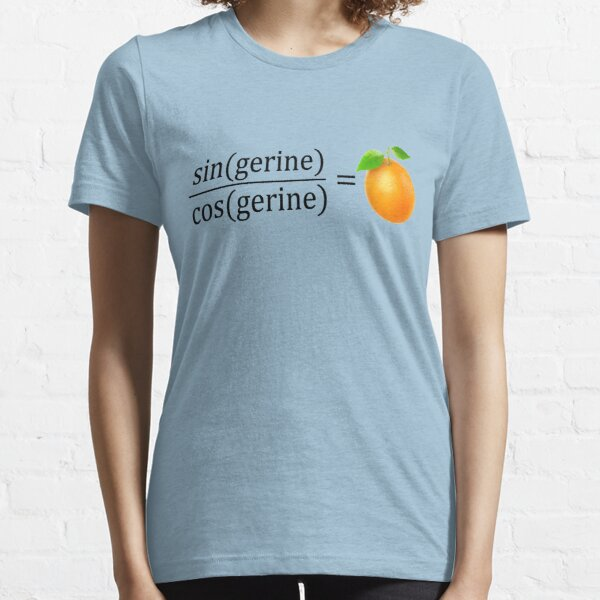 tan(gerine) math Essential T-Shirt