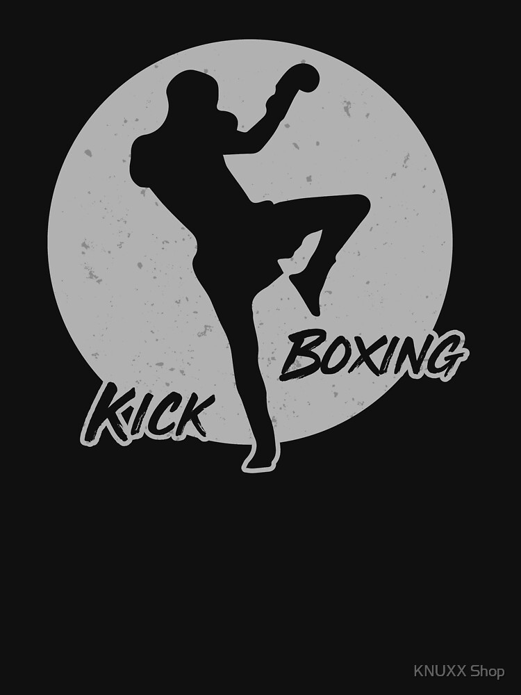 Kickboxing Sun Master Combat Martial Fight Sport Silver by zot717