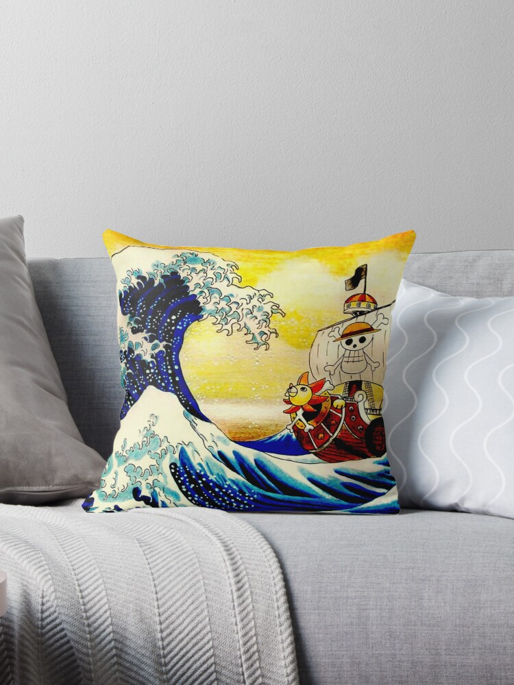 The Great Wave off One Piece by RobertBreaux