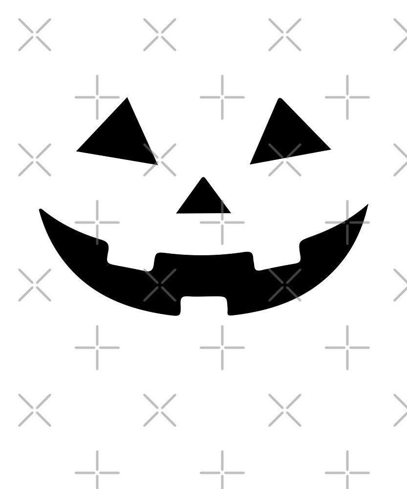 Halloween Pumpkin Face Jack O Lantern Fall Costume by JapaneseInkArt