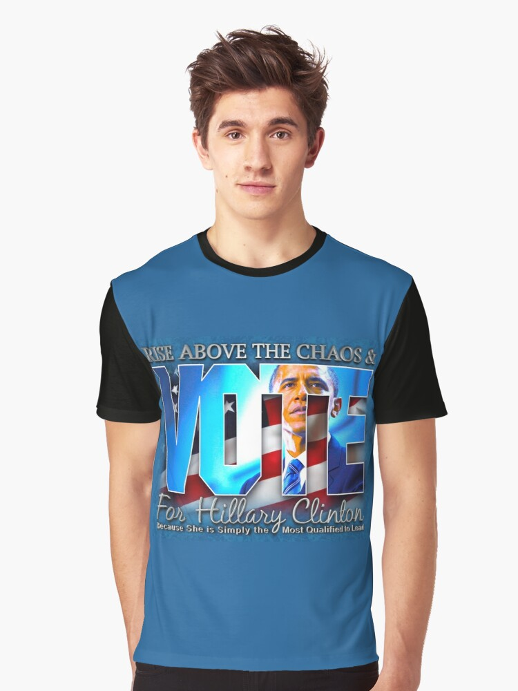 Rise Above The Chaos Collection Graphic T-Shirt Front