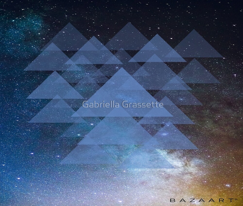 Space Triangles by Gabriella Grassette