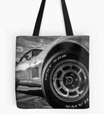 Indy 500 Black and White Tote Bag