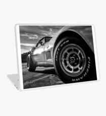 Indy 500 Black and White Laptop Skin