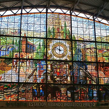 Stunning stained glass, Bilbao by FranWest