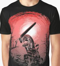 Sunset Glow Berserk Graphic T-Shirt