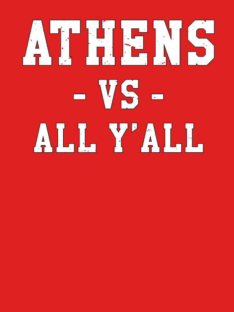 Athens VS All Y'all Gameday Football Time by TurboRights