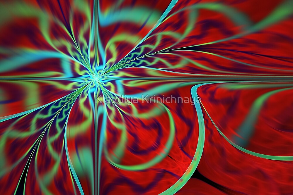 Royal red by Klavdiya Krinichnaya